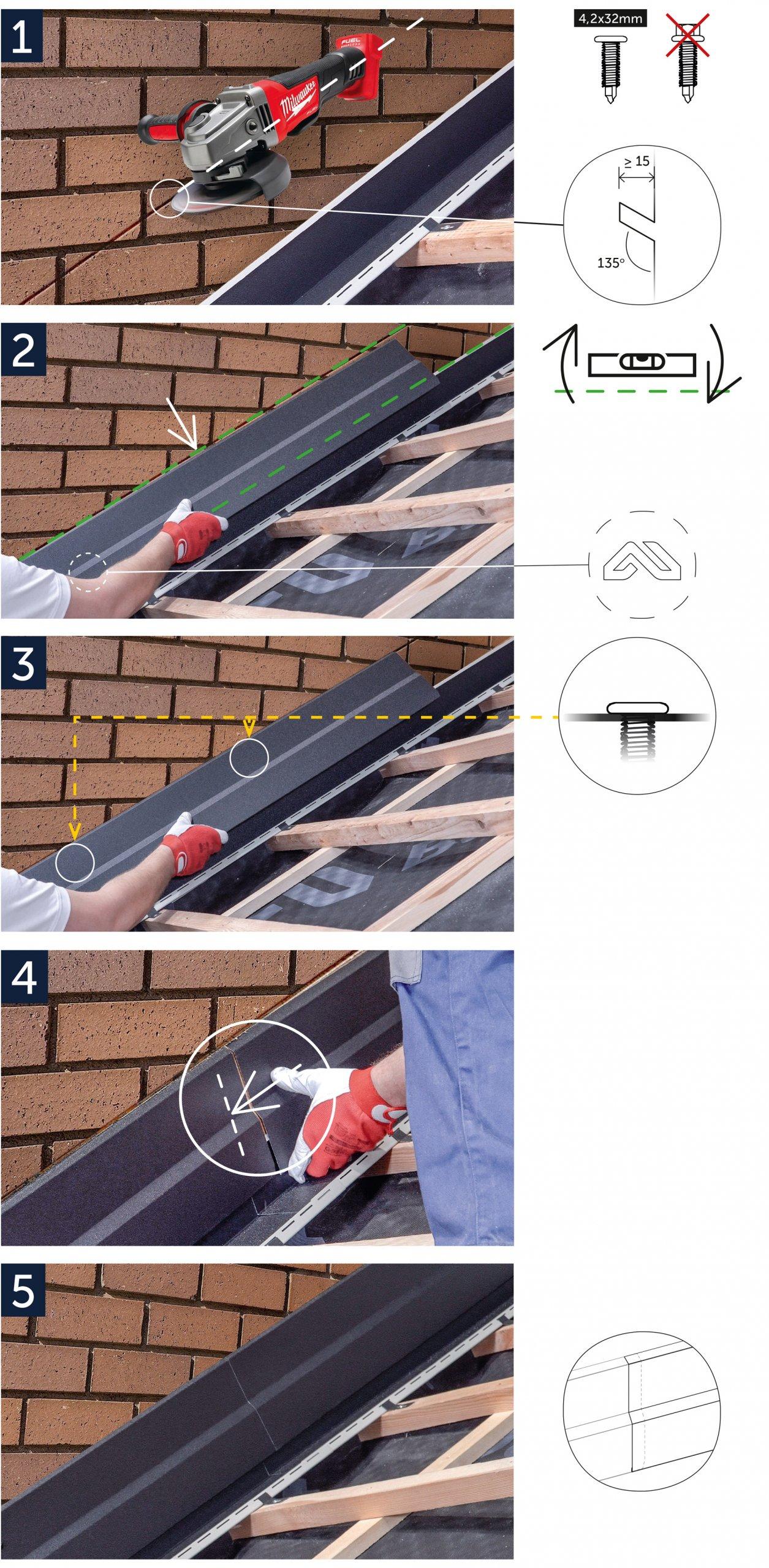 Instrukcja montażu System MOD - Obróbka przyścienna OP