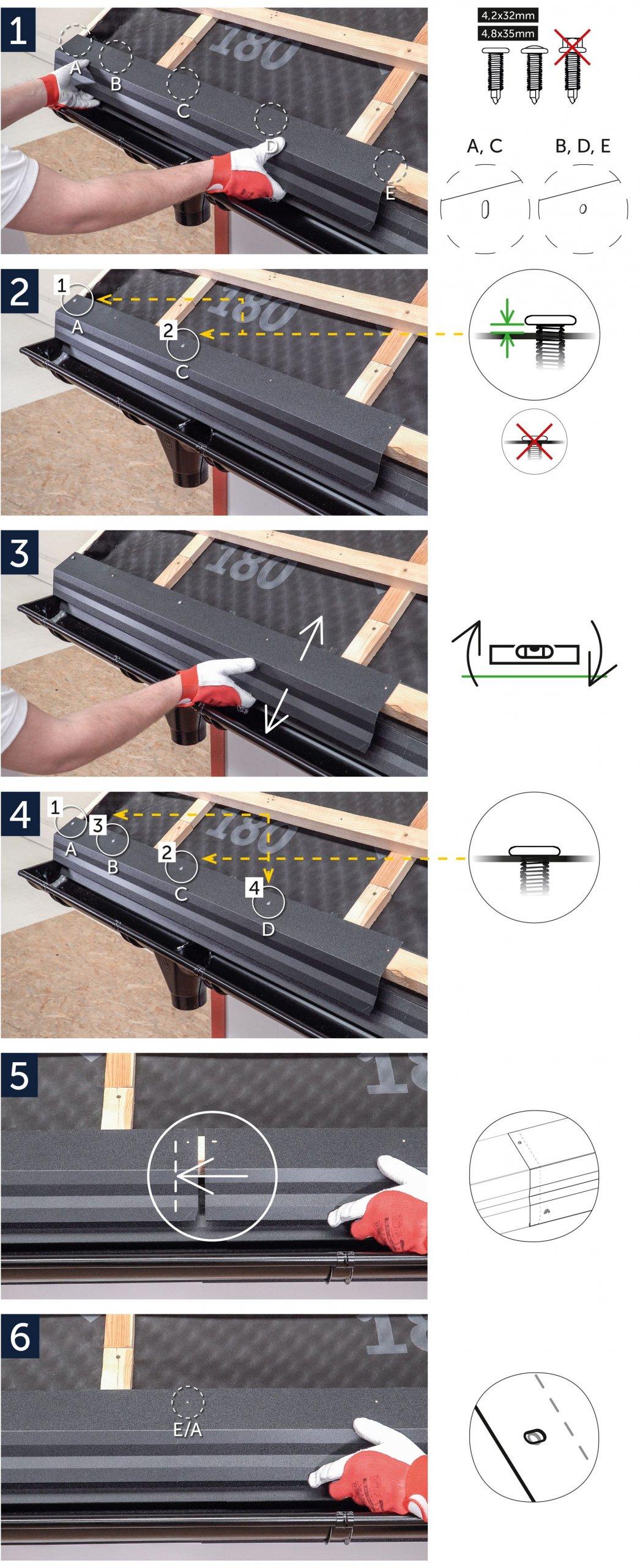 Instrukcja montażu System MOD - Pas nadrynnowy PN